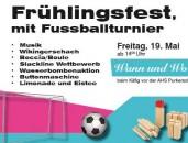 Frühlingsfest mit Fußballturnier -